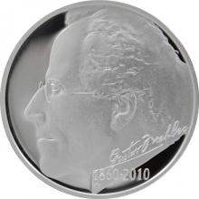 Stříbrná mince 200 Kč Gustav Mahler 150. výročí narození 2010 Proof