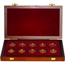Sada Kulturne pamiatky technického dedičstva 10 zlatých mincí 2006 - 2010 Štandard