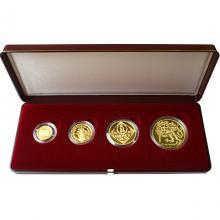 Zlaté mince Sada Koruna Česká 1997 Proof