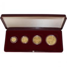 Zlaté mince Sada Koruna Česká 1996 Standard
