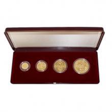 Zlatá minca Sada Koruna Česká 1996 Štandard