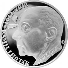 Stříbrná mince 200 Kč Kamil Lhoták 100. výročí narození 2012 Proof