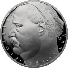Stříbrná mince 500 Kč Jiří Trnka 100. výročí narození 2012 Proof