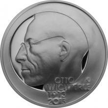 Stříbrná mince 200 Kč Otto Wichterle 100. výročí narození 2013 Proof