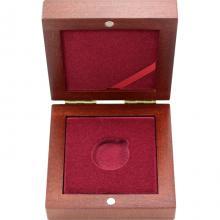 Drevenná krabička 1 x Au ČR 27 mm