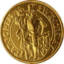 Replika dukátu se sv. Václavem 2004 Standard