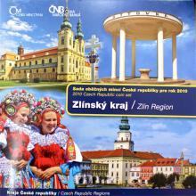 Sada oběžných mincí ČR 2010 Zlínský kraj