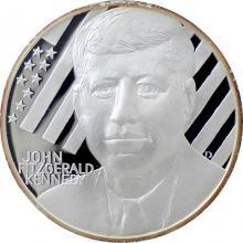 Stříbrná medaile John Fitzgerald Kennedy 2010 Proof