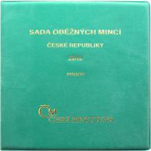 Sada oběžných mincí ČR 2010 Proof