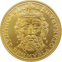 Zlatý 100 dukát Přemysla Otakara II. 2010 Standard