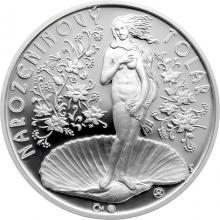 Narozeninový tolar v dárkovém blisteru - stříbrná medaile Proof