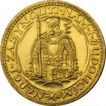 Zlatá minca Svätý Václav Jednodukát Československý 1929