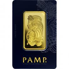 50g PAMP Fortuna Investičná zlatá tehlička