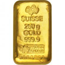 250g PAMP Suisse Investičná zlatá tehlička