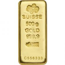 500g PAMP Suisse Investiční zlatý slitek