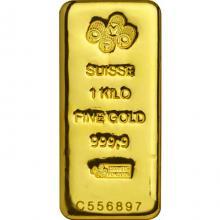 1000g PAMP Suisse Investiční zlatý slitek