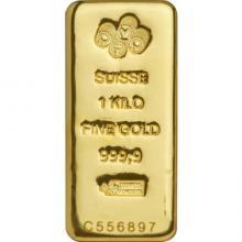 1000g PAMP Suisse Investičná zlatá tehlička