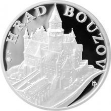 Hrad Bouzov strieborná medaila 2011 1 Oz Proof