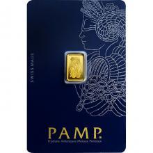 1g PAMP Fortuna Investičná zlatá tehlička