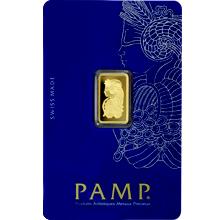 2,5g PAMP Investiční zlatý slitek