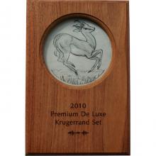 Krugerrand 2010 Sada zlatých mincí První stříbrná mince Proof