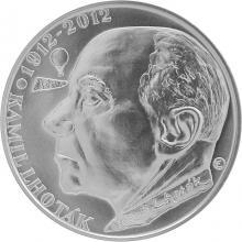 Strieborná minca 200 Kč Kamil Lhoták 100. výročie narodenia 2012 Štandard