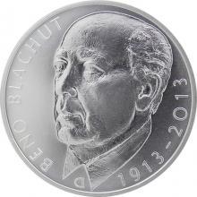 Strieborná minca 500 Kč Beno Blachut 100. výročie narodenia 2013 Štandard