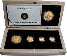Maple Leaf sada investičních mincí 100. výročí Kanadské královské rafinerie 2011 Proof