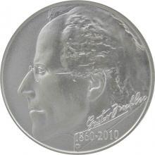 Stříbrná mince 200 Kč Gustav Mahler 150. výročí narození 2010 Standard