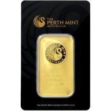 50g Perth Mint Investičná zlatá tehlička