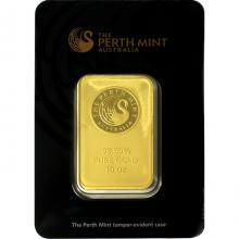 311g Perth Mint Investičná zlatá tehlička
