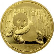 Zlatá investiční mince Panda 1/2 Oz 2015