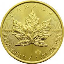 Zlatá investičná minca Maple Leaf 1 Oz