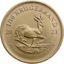 Zlatá investičná minca Krugerrand 1/10 Oz