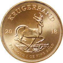 Zlatá investiční mince Krugerrand 1 Oz