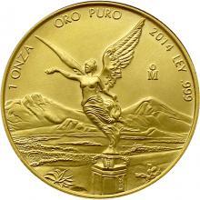 Zlatá investičná minca Mexico Libertad 1 Oz