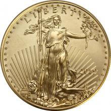 Zlatá investiční mince American Eagle 1 Oz