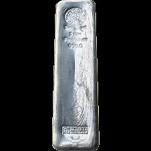 5000g Argor Heraeus SA Švýcarsko Investiční stříbrný slitek