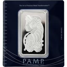 100g PAMP Stříbrný investiční slitek