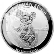 Stříbrná investiční mince Koala 1/2 Oz