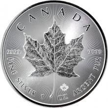 Stříbrná investiční mince Maple Leaf 1 Oz
