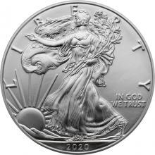Strieborná investičná minca American Eagle 1 Oz