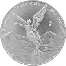 Stříbrná investiční mince Mexiko Libertad 1 Oz