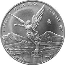 Strieborná investičná minca Mexico Libertad 1 Oz