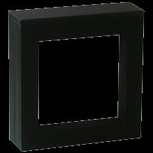Luxusná transparentná etue - darčekové krabičky 70 x 70 mm