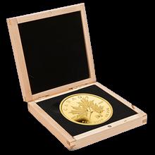 Maple Leaf Forever 1 Kg Zlatá mince 2011 Proof