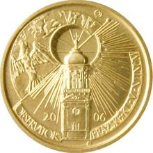 Zlatá mince 2500 Kč Klementinum v Praze 2006 Standard