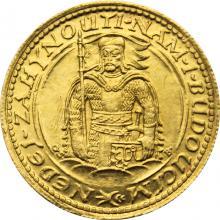 Zlatá minca Svätý Václav Jednodukát Československý 1932