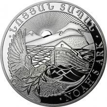 Stříbrná investiční mince Noemova archa Arménie 1 Oz