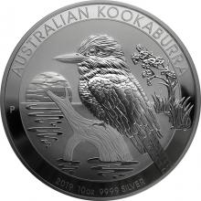 Stříbrná investiční mince Kookaburra Ledňáček 10 Oz
